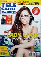 French mag 2013: LADY GAGA_BEAR GRYLLS_JULIE DEPARDIEU_DIDIER ROUSTAN