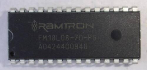 RAMTRON FM18L08-70-PG DIP28 256Kb Bytewide FRAM Memory