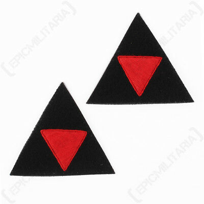 Quality Uniform Badge WW2 British 3rd Infantry Divisional Patch Pair