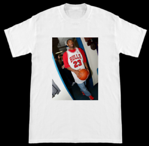 Details about Kobe Bryant Wearing Chicago Bulls Michael Jordan Jersey T Shirt