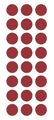 "3/"" Lavender Round Color Code Inventory Label Dots Stickers"