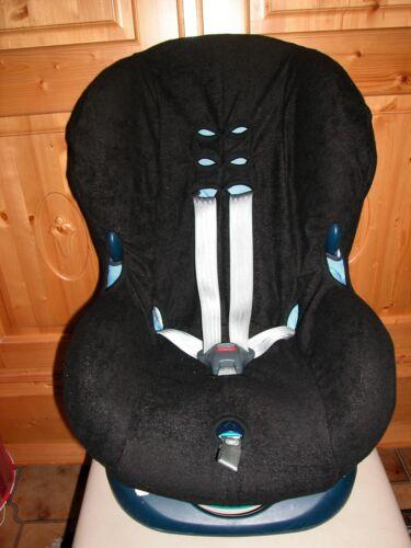 Sommerbezug Schonbezug Frottee für Maxi-cosi Priori und Priori SPS NEU schwarz