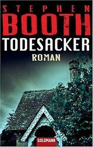 Todesacker-Roman-von-Stephen-Booth-Buch-Zustand-gut