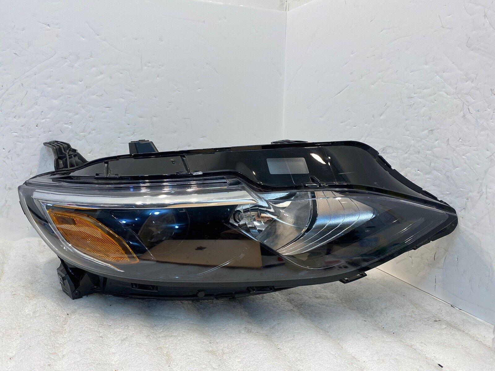 Driver side WITH install kit 100W Halogen 2007 Chevrolet MALIBU MAXX Post mount spotlight -Black 6 inch