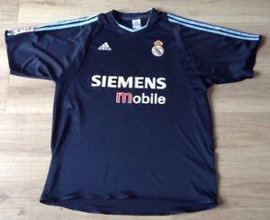 022167b4639 real madrid football shirt adidas away kit 2003-2004 size adult xl