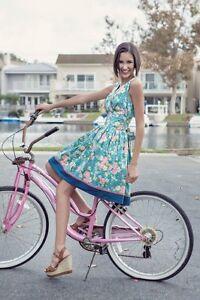 New-MATILDA-JANE-Size-M-Good-Hart-FROM-THE-GARDEN-Fifties-Style-DRESS-A1386
