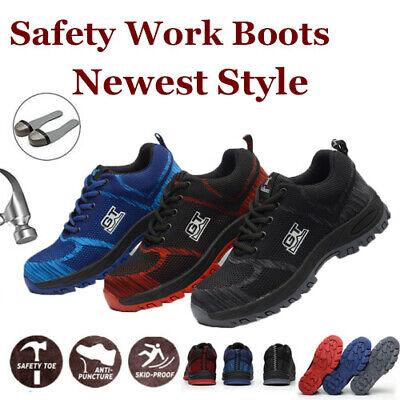 Arbeitsschuhe Sicherheitsschuhe S3 Schutzschuhe Leder Stiefel Bauschuhe Gr.35-48 Strukturelle Behinderungen