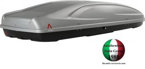 ABSOLUTE 480 LT BOX BAULE PORTATUTTO PORTABAGAGLI TETTO AUTO G3 MOD