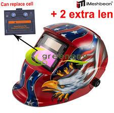 USA AEW pro Solar Welder Mask Auto-Darkening Welding Helmet Arc Tig mig grinding