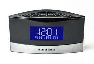 Sound Soother White Noise Machine Alarm Clock Radio Sharper Image