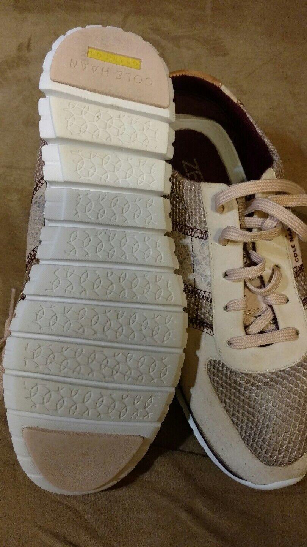 cole haan zero grand Größe 7.5 Damens snake skin sneaker
