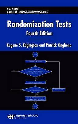 Randomization Tests, Fourth Edition (Statistics:  A Series of Textbooks and Mono