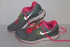 Nike Lunareclipse 2 + Running Shoes, #487974-007, Stealth/Pink/Volt, Womens 8