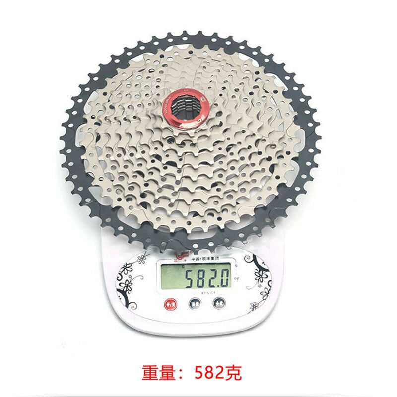 BOLANY 10S 11-50T Freewheel Mountain Bike Cassette Cogs For  SHIMANO SRAM 589g  factory direct and quick delivery