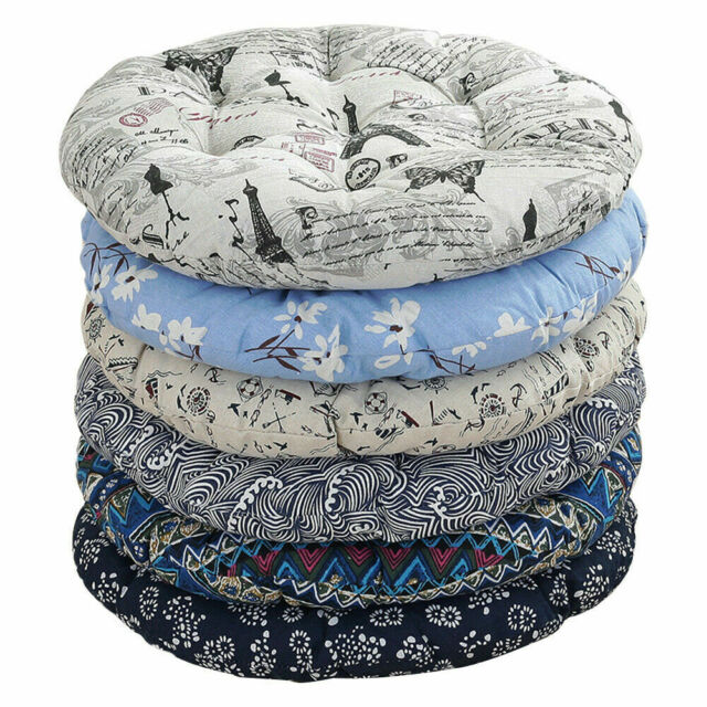 Pillow Indoor Outdoor Multicolored Floral Round Chair Cushion For Sale Online Ebay