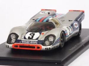 Porsche 917 Vainqueur 12h Sebring 1971 Elford - Larrousse 1:43 Spark 43se71