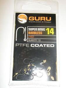 Guru-3-X-Super-Mwg-sin-Rebaba-Ojos-Gancho-Packs-Todo-Variedades-Equipo-de-Pesca