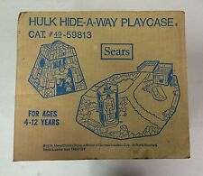 1978 Incredible Hulk Hide-A-Way Playset Sears Exclusive SEALED MINT IN BOX (MIB)