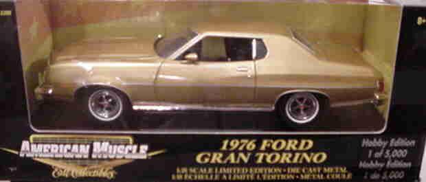 1976 Ford Gran Torino Bronce 1 5000 1 18 Ertl American Muscle 33199
