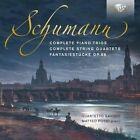 Schumann: Complete Piano Trios; Complete String Quartets; Fantasiestcke, Op. 88 (CD, Jun-2016, 3 Discs, Brilliant Classics)