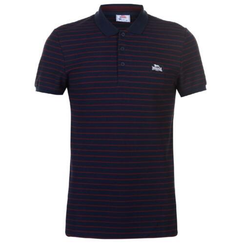 LONSDALE POLO Polo Camicia Polo T-Shirt Uomo Camicia Maniche Corte Slim 013
