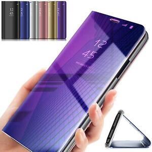 Handy Hülle für HUAWEI P40 Pro Lite Clear View Case Flip Smart Cover Schutzhülle