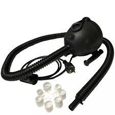 Bravo GE OV6 230V elektrische Luftpumpe für Schlauchboote Luftmatratzen schwarz
