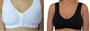 Front-Fastening-Bra-Post-Surgery-Multi-Cup-Soft-Non-Wire-EASY-STICK-FASTEN