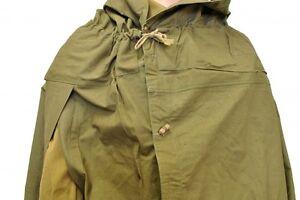 Image is loading Soviet-Russia-military-surplus-army-Cloak-tent-RAIN-  sc 1 st  eBay & Soviet Russia military surplus army Cloak tent RAIN COAT CAPE ...