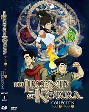DVD Avatar: The Legend Of Korra (Book / Season 1-  4) Complete Tv Series