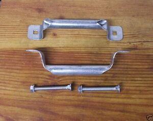 """Pair Garage Door 6.5/"""" Lift Handles w// Hardware DIY Truck Overhead Shed Barn DIY"""