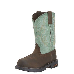 Ariat-10015405-Womens-Waterproof-Tracey-Pull-On-WP-Work-Boot-Composite-Toe