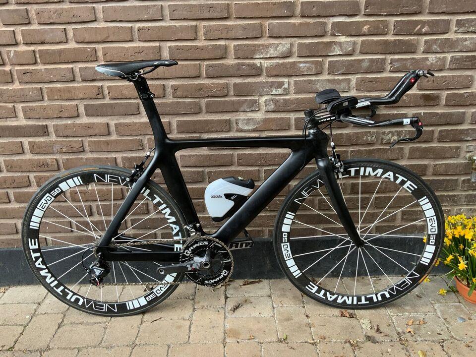 Triatloncykel, Giant Giant Carbon TT, 78 cm stel