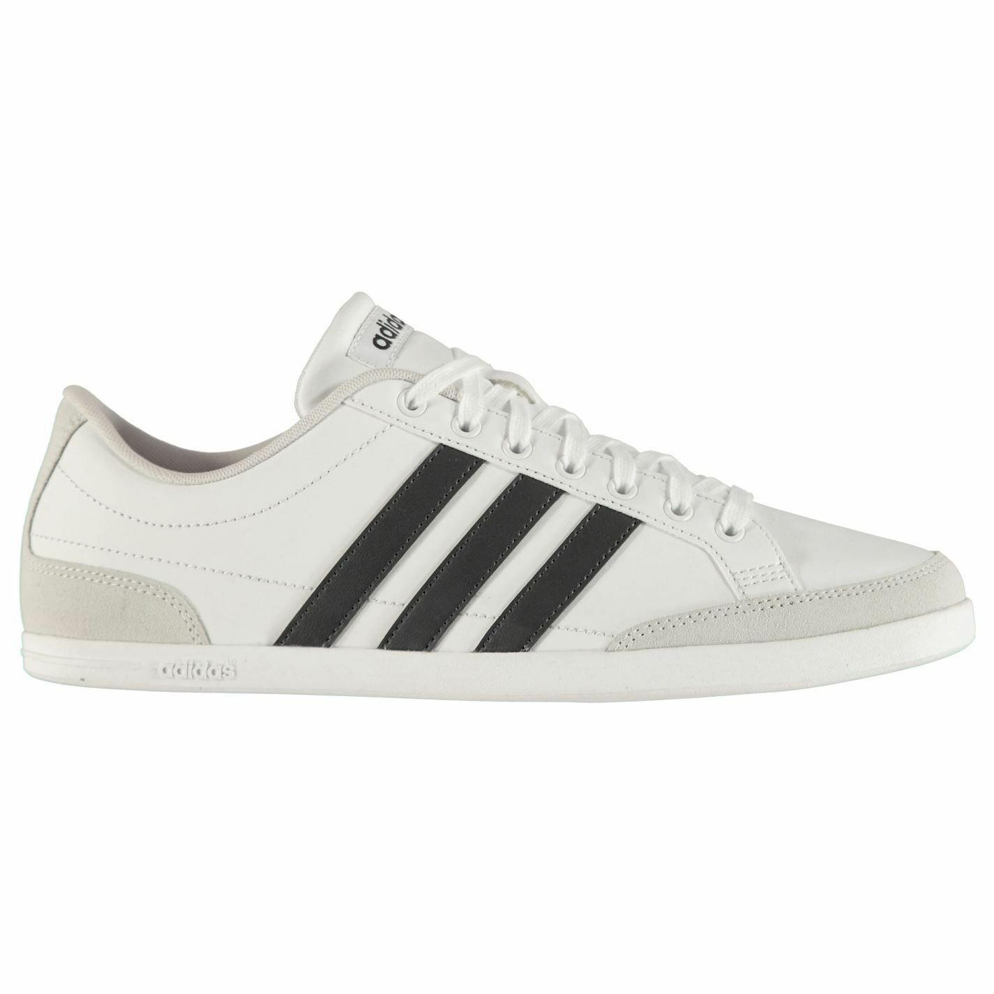 Adidas Mens Caflaire Lth Low Trainers
