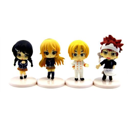 Shokugeki No Soma Nouveau Erina Megumi Figure Mini Figurines-Food Wars Blind Box