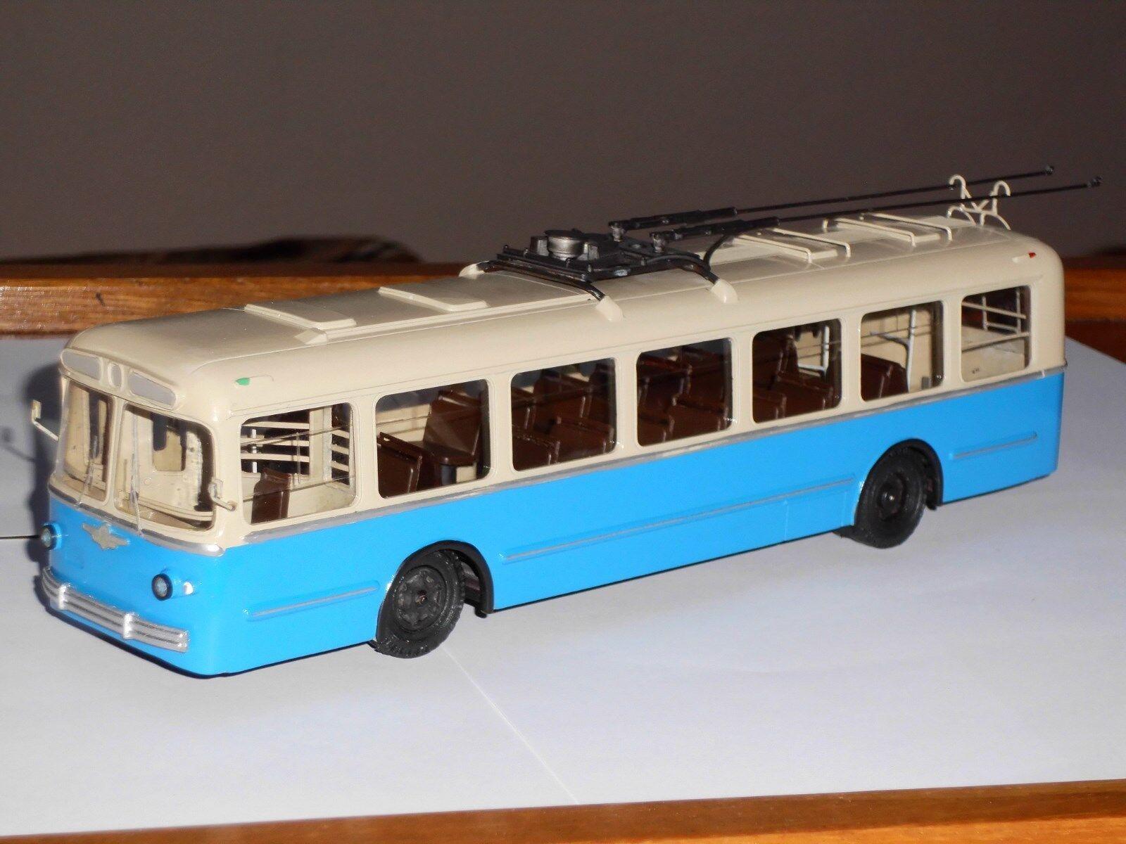Autobús ziu - 5, finoko, fabricado a mano en Rusia, modelo 1,43
