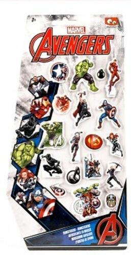 18 The Avengers 3D Schaumstoff Sicker Aufkleber Neu OVP  F1