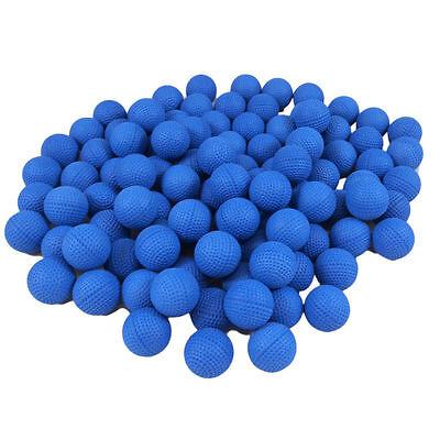 100pcs Blue Compatible Gun Bullet Balls Rounds For Nerf Rival Zeus Apollo Refill