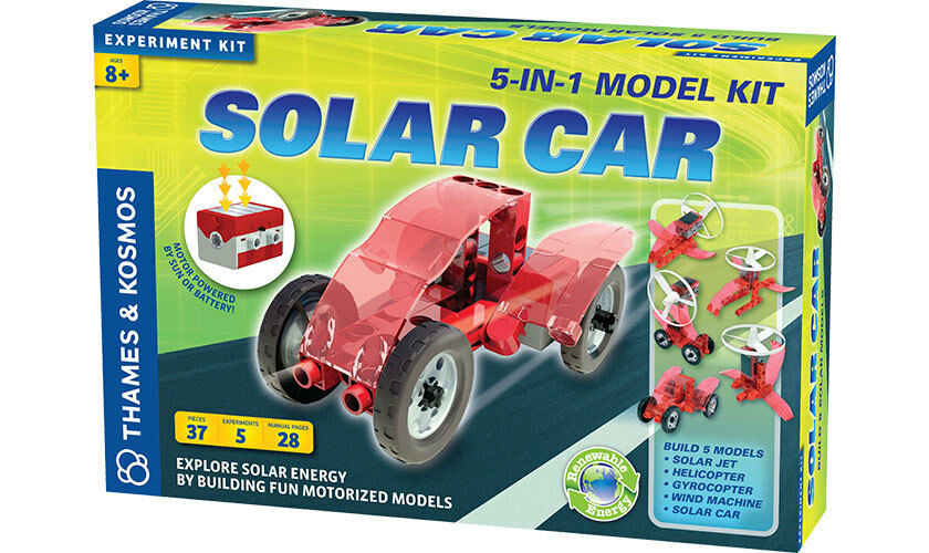 Solar Car by Thames & Kosmos expriment kit 5 in 1