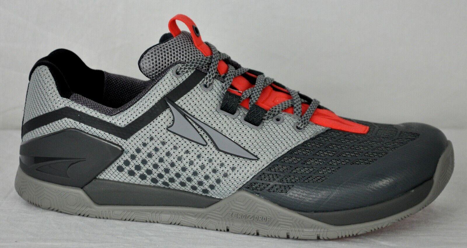 Altra para hombre HIIT XT 2 Cross Training zapatos AFM1976P-2 gris Naranja Tamaño 10