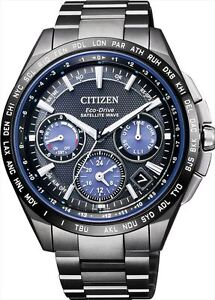 ef08f156b7c CITIZEN ATTESA Men s watch F900 Eco-drive Solar GPS Satellite Wave  CC9017-59L