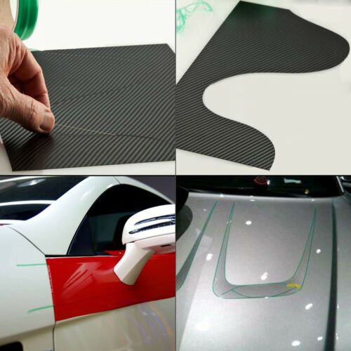 "Car Wrapping Vinyl 4/"" Plastic Squeegees Applicator 5M Design Line Knifeless Tape"
