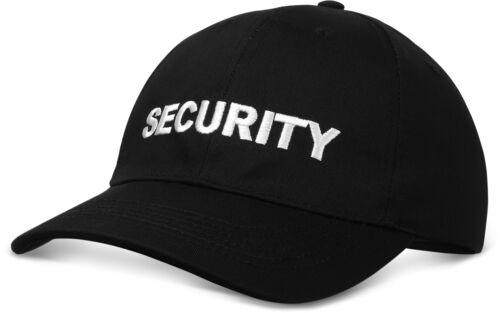 Casual Baseball Cap Casquette eingestickter Security Lettrage Emboîtement plastique