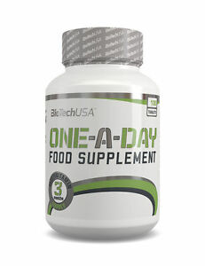 BIOTECH-USA-ONE-A-DAY-100-Tabs-COMPLETE-MULTIVITAMIN-FORMULA-VITAMINS-MINERAL
