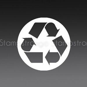 3 5 Inch Recycle Vinyl Decal Sticker Die Cut Symbol 080 Ebay