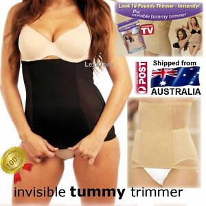 4b1ee993b1395 Image is loading Invisible-Tummy-Trimmer-Body-Shapewear-Slimmer-in-Nude-