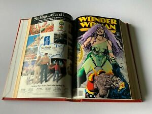 BOUND-HARD-COVER-VOLUME-WONDER-WOMAN-COMICS-1994-UP-TWO-VOLUMES-DC-COMICS-LOT-3