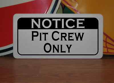 BOAT CREW ONLY Metal Tin Sign NEW Rowing Man Cave Staging Prop Kitchen Decor