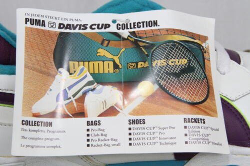 Box 90s Puma 7 Collection amp; Uk Size Tags Deadstock Trainers Cup Davis BxqFp7