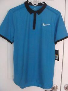 0b6009aa Men's Nike Court RF ADVANTAGE Tennis Polo Shirt 729281 435 Size S, M ...